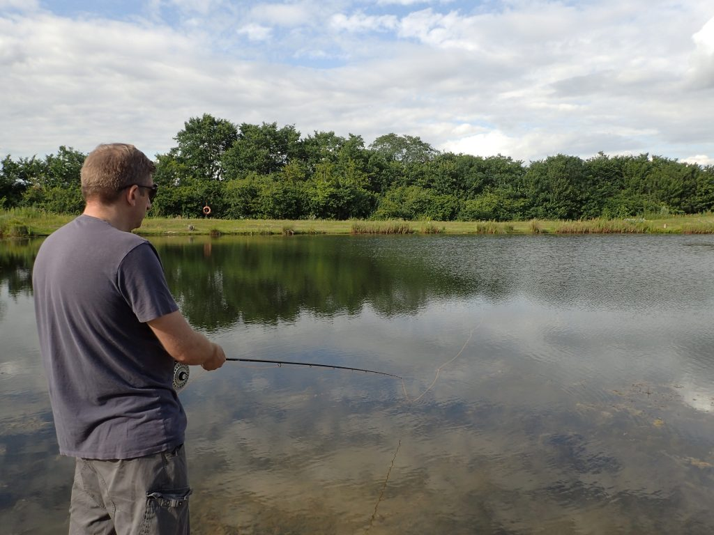 Fly fishing at Thornwood Springs