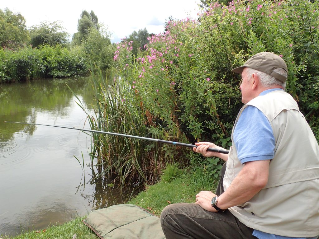 Grandad fishing